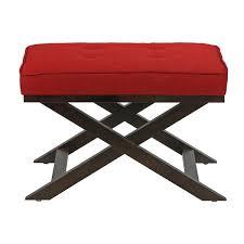 cortesi home ari x bench ottoman u0026 reviews wayfair