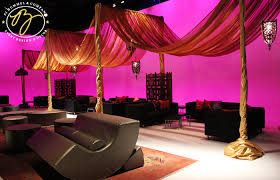 Pipe And Drape Hire Indian Wedding Decor Pink And Orange Pipe And Drape Idea For