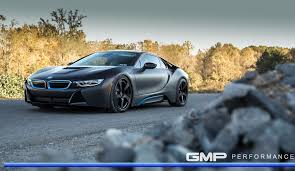 satin black maserati bmw i8 with hre rs102 in satin black hre performance wheels