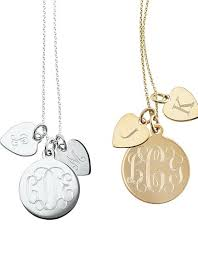 necklace with kids initials necklace with your monogram you add initials as you children