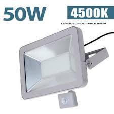 le exterieur avec detecteur de mouvement projecteur led exterieur 50 w avec detecteur de mouvement achat