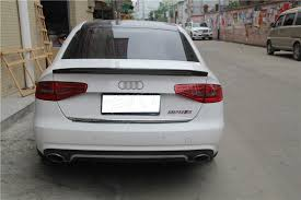 audi a4 spoiler for audi a4 b8 5 spoiler 2013 2014 2015 carbon spoiler rear trunk