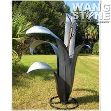 stainless steel garden ornament corn plant sculpture buy plant