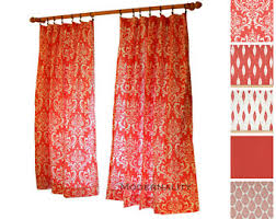 Damask Kitchen Curtains by Modern Damask Drapes Etsy