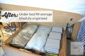 organizing those awkward small spaces in an rv giveaway