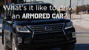 lexus lx 2016 car and driver what u0027s it like to drive an armored car driving ca youtube