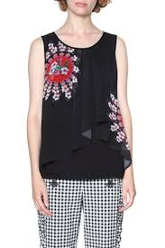 white sleeveless blouse desigual lucile sleeveless blouse from hudson valley by
