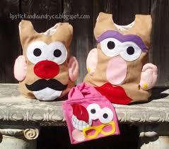 Potato Head Halloween Costume Lipstick Laundry Potato Head Costume