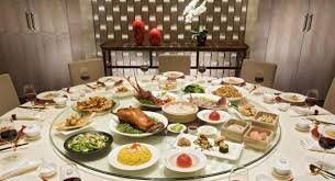 Dining Table With Food Dining In China Mastering A Communal Meal For Business Or