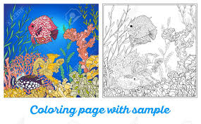coral coloring pages to download and print for free coloring book