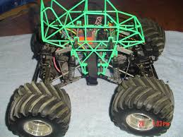 rc monster truck grave digger clodbuster clod buster monster jam grave digger novak spektrum r