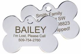 Engravable Dog Tags Gotags Personalized Pet Id Tags For Dogs And Cats Double Sided