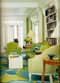 i love the pucci inspired rug the apple green houndstooth and