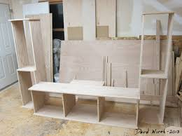 Easy Wood Shelf Plans by Tv Stand Build Plans