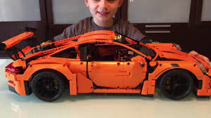 lego porsche life size new lego technic porsche 911 gt3 rs set 42056 review u0026 demo by