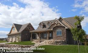 architectural designs house plan 16807wg comes to life in south