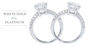 difference between engagement ring and wedding band the differences between white gold and platinum