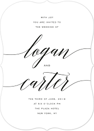 wedding invitations font wedding invitation templates that are and easy to make