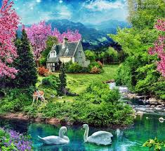 Wonderful Gardens 268 Best The Wonderful Gardens Of Some Painters Images On