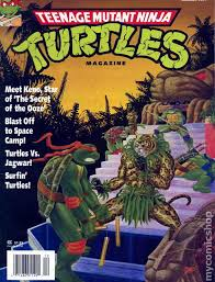 teenage mutant ninja turtles magazine 1990 comic books