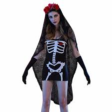 womens ghost halloween costumes online buy wholesale halloween costumes skeleton woman from china