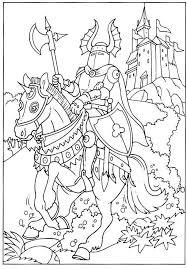 Sélection de dessins de coloriage chevalier à imprimer sur LaGuerche