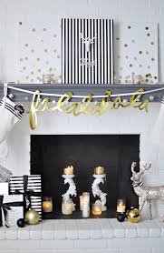 Yellow And White Christmas Decorations by Christmas In July 2016 Blog Hop Monica Wants It