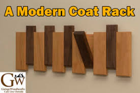 a modern coat rack garage blog