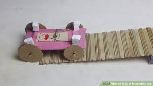 How To Build A Toy Chest Out Of Wood by How To Build A Mousetrap Car With Pictures Wikihow