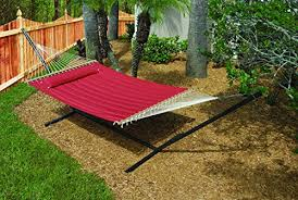hammock outdoor quilted cotton fabric beach hammocks swing