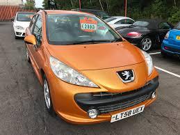 peugeot manufacturer used peugeot 207 orange for sale motors co uk