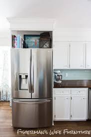 Standard Size Microwave by Refrigerator Cabinet Plans How To Build A Refrigerator Cabinet