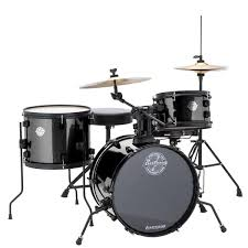 amazon com ludwig lc178x016 questlove pocket kit 4 piece drum set