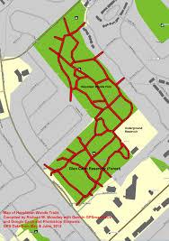 Map Of Ottawa Richard U0027s Gps Trail Maps Hazeldean Woods Trails