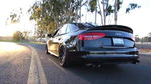 audi s4 exhaust vader audi s4 b8 5 3 0 v6t w armytrix cat back variable