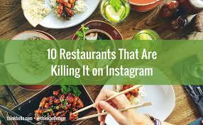 instagram cuisine 10 restaurants that are killing it on instagram communications