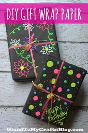 chalkboard wrapping paper gift wrap paper