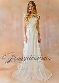 brautkleider mit corsage vintage brautkleid garten strand chiffon rock spitze corsage ivory