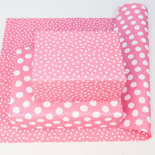 pink wrapping paper pink spotty wrapping paper