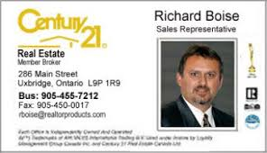 Century 21 Business Cards Business Card Styles For Century 21 Real Estate Agents