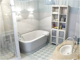 decorating modern bathroom design with nemo tile wall and