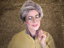 diy golden girls costume make