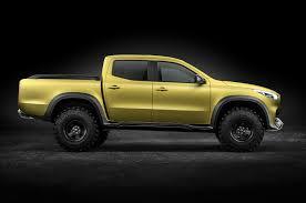 mercedes benz x class pickup concept debuts in sweden motor trend