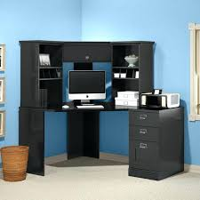 Small Black Corner Computer Desk Small Corner Desk With Hutch Desk Hutch Organizer Wood Desktop
