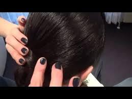 short ballroom hair cuts ballroom hairstyle for shoulder length hair youtube