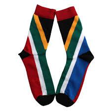 Aftican Flag South African Flag Socks Big Blue Online Shopping
