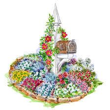 tough as nails perennial garden plan