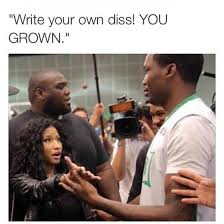 Nicki Minaj Meme - meek mill nicki minaj meme gorgeous in grey
