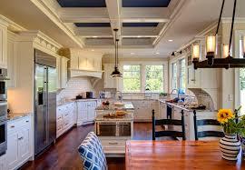 beach house kitchen designs rataan basket beach house interior design striped cushion designs
