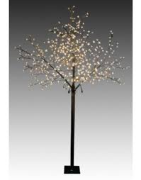 outdoor lighted cherry blossom tree led pre lit blossom trees from christmas tree world uk